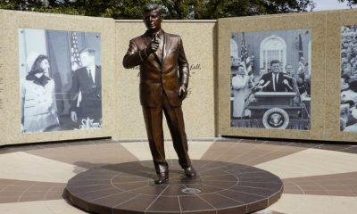JFK Memorial en Fort worth Foto Presidents USA
