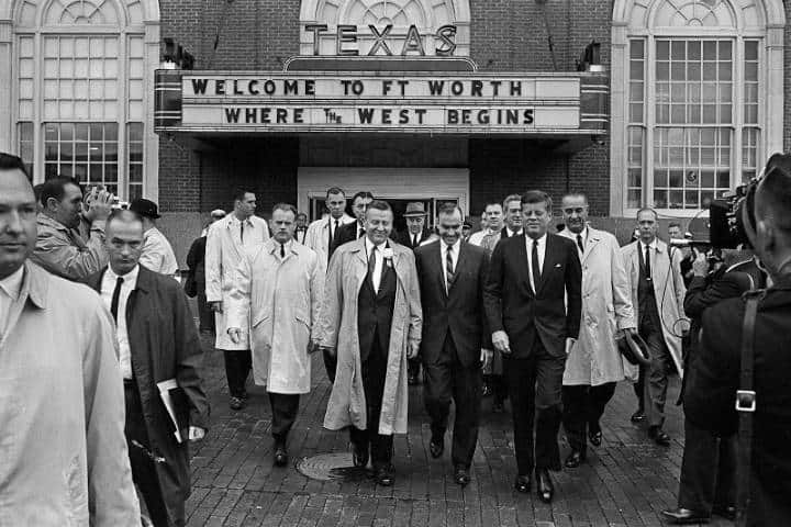 JFK en Fort Worth 22 de noviembre de 1963 Foto The Kennedy Gallery