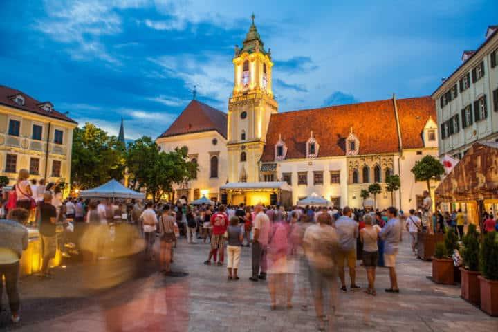 Centro Bratislava Espiritu viajero