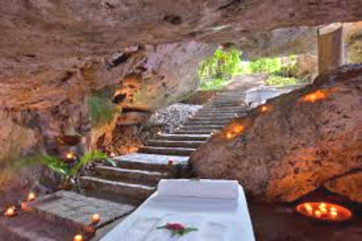 Rumbo al Spa en la Hacienda Temozón. Foto Luxury Circle