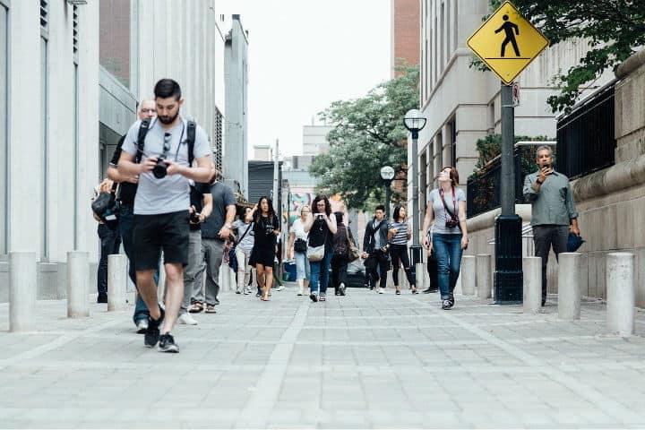 Los turistas recorren todo el globo y son contabilizados en las cifras de la OMT Foto Pixabay