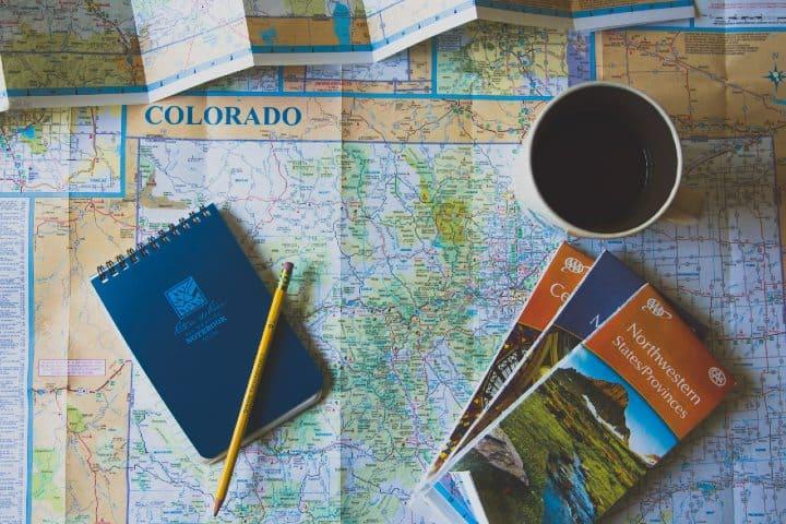 mapa colorado Ruta México Denver Con Volaris