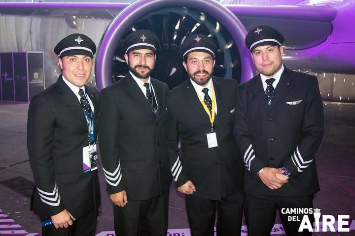 tripulacion volaris Ruta Guadalajara Tuxtla Gutiérrez con Volaris