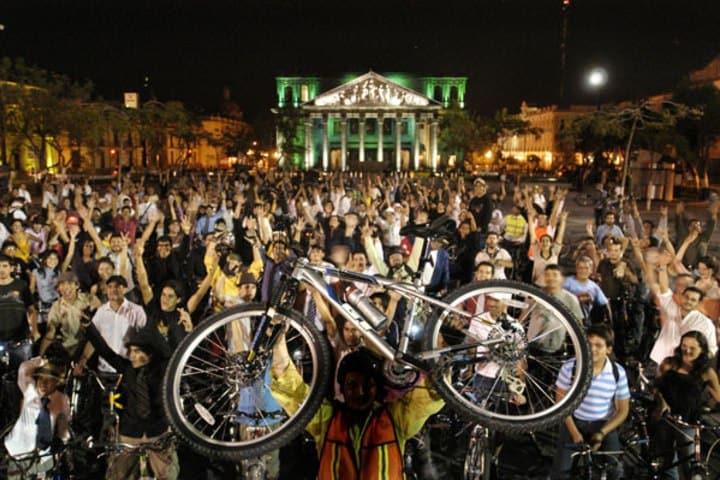 Foto GDL en bici