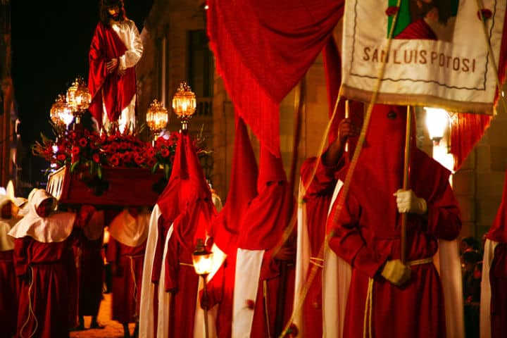 Procesión del silencio Foto Visita San Luis Potosí