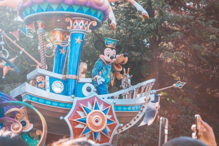 Disneyland. Foto: Travis Gergen