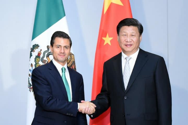 Xi Jinping y Enrique Peñanieto fortaleciendo la alianza México-China Foto Zhang Duo para Xinhua News Agency