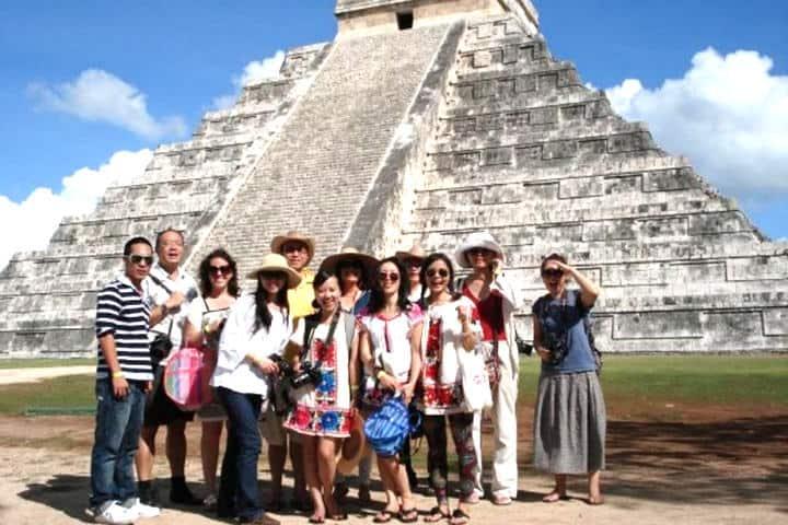 turistas chinos en México El Horizonte