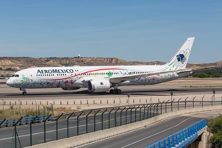 aeromexico (2) Avión Dreamliner de Aeroméxico