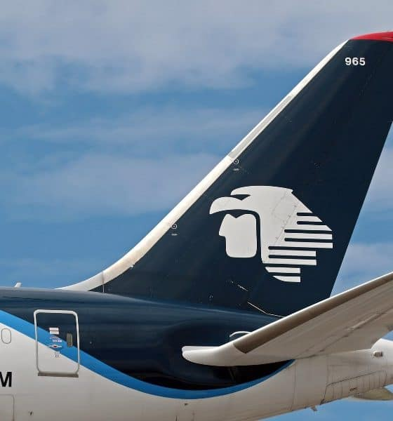 Avión Dreamliner de Aeroméxico