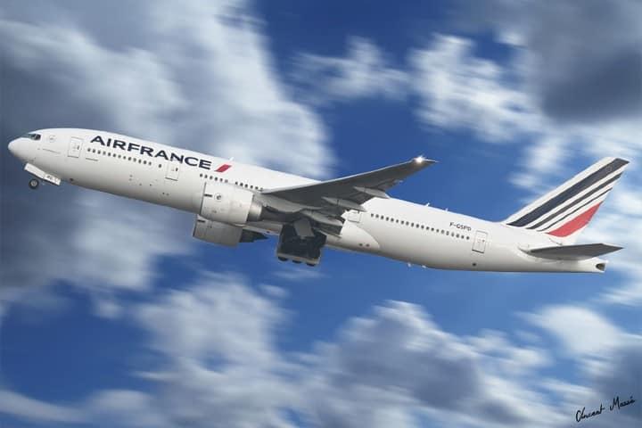 Air France. Foto: Spottingvince