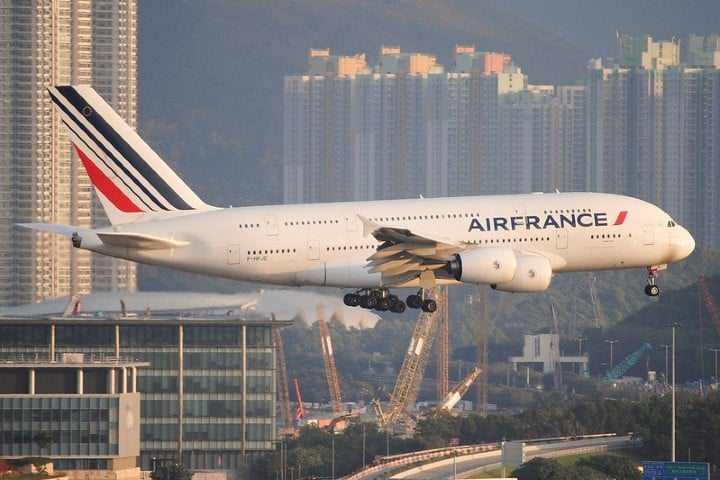 Air France. Foto: Luk Martin