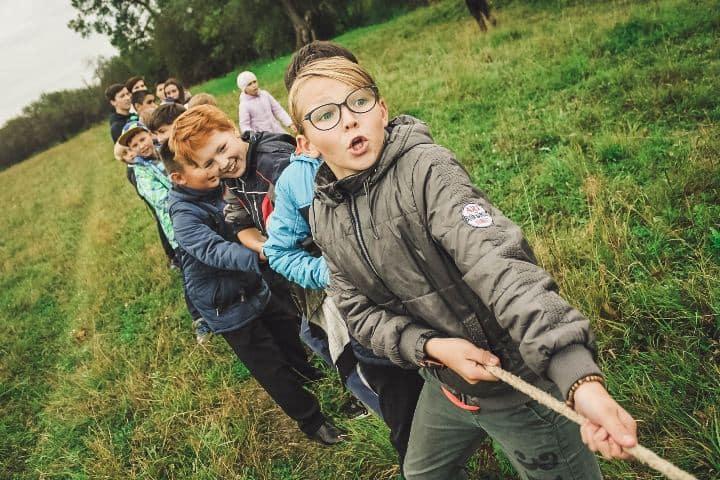 niños jugando, Concurso Nacional de Cultura Turística Infantil