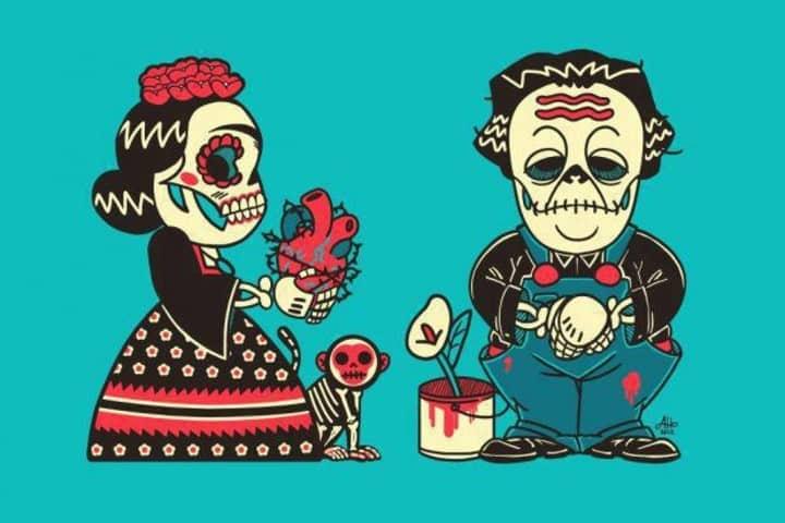 Frida Kahlo y Diego Rivera (5)