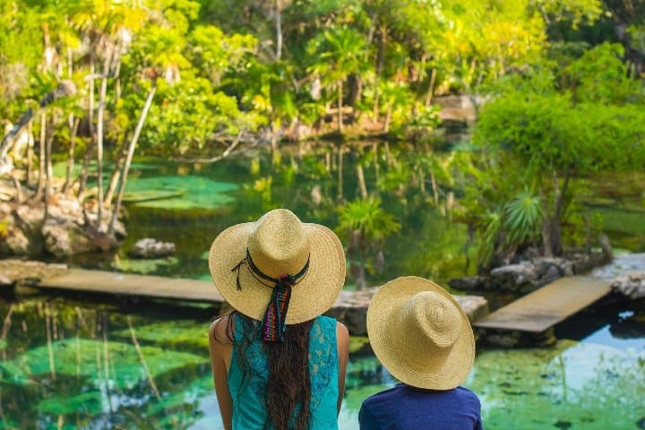 cenote. Yucatán y el CPTM