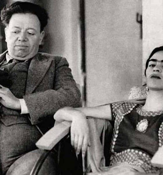 frida kahlo y diego rivera. foto: Secretaría de Cultura