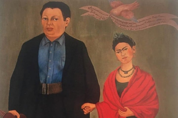 Exposición Frida y Diego en París.