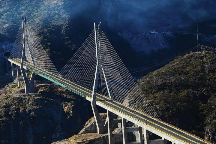 Autopista Mazatlán Durango puente baluarte (6) Foto: Autopista Durango-Mazatlan