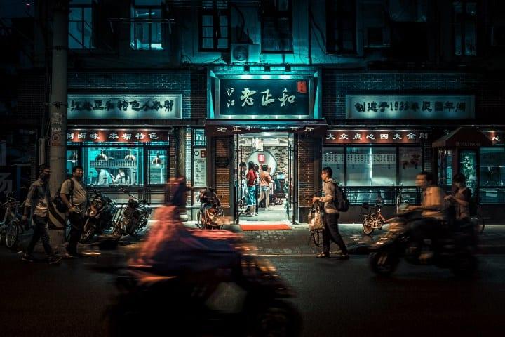 China. Foto: 丁亦然 Comida típica en China