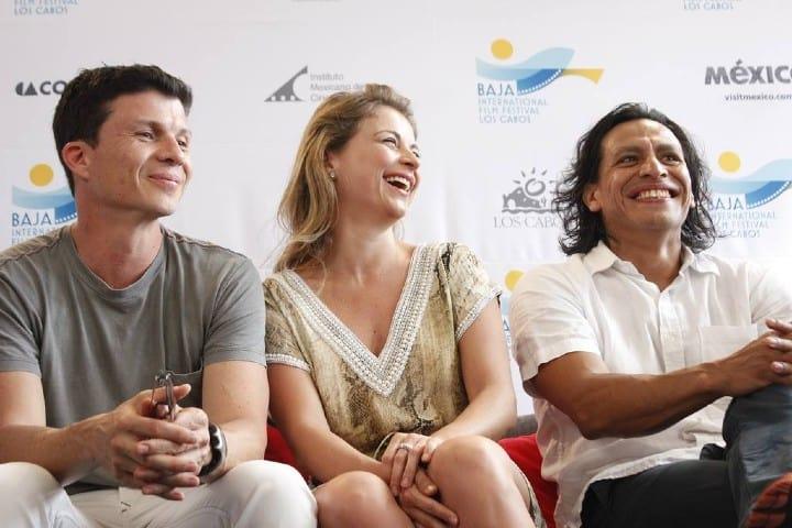 El talento de Volando Bajo de Beto Gómez: Rodrigo Oviedo, Ludwika Paleta y Gerardo Taracena.