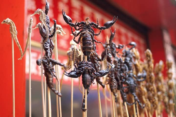 Comida típica en China
