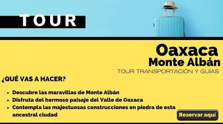Tour Oaxaca, ruinas zapotecas Monte Albán. Arte El Souvenir