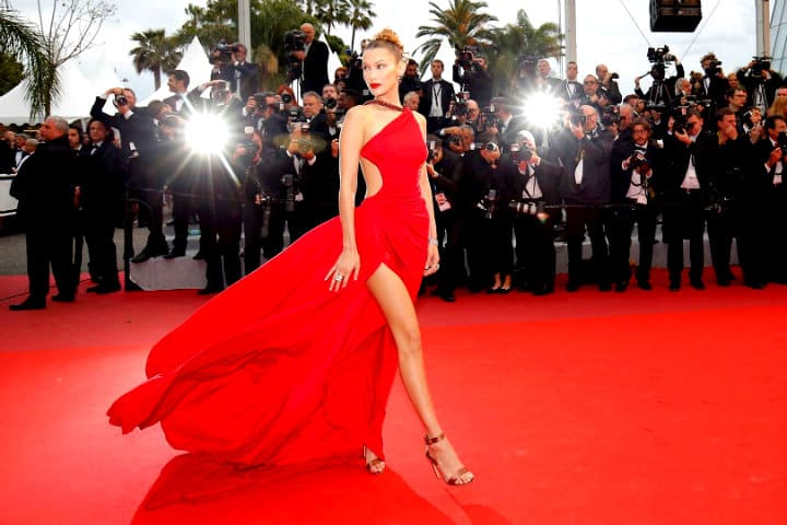 Red carpet Cannes Talent Village