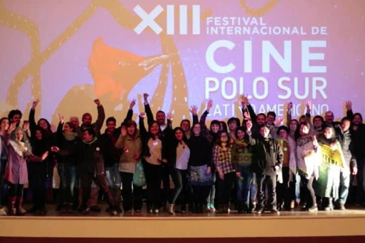 Asistentes en la muestra de cine Latinoamericano en Chile Foto Proacultura
