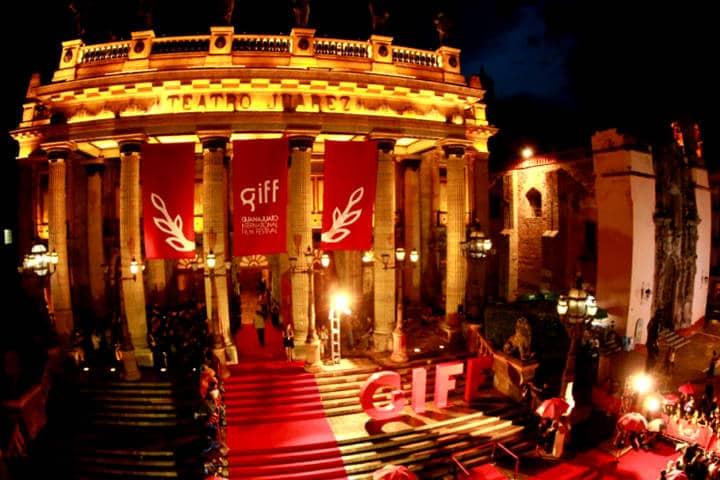 Festival internacional de cine Guanajuato Foto Periódico Correo