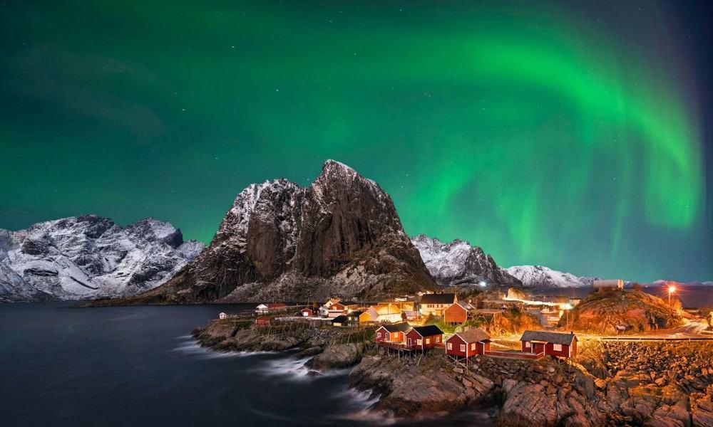 Aurora boreal de Norugea Foto lonleyplanet (1)