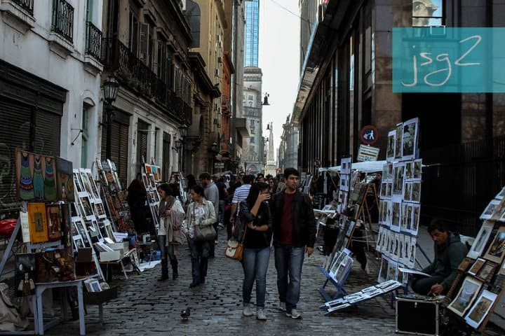 Calle de la Defensa Argentina. Foto: Johnny Gomes