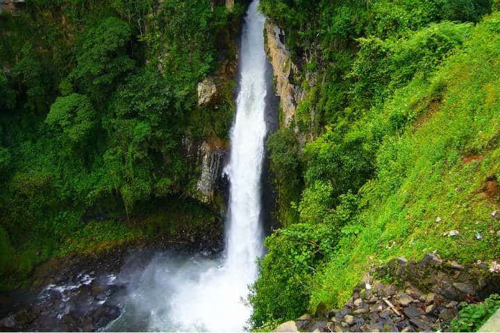 Cascada de Texolo Foto El Souvenir