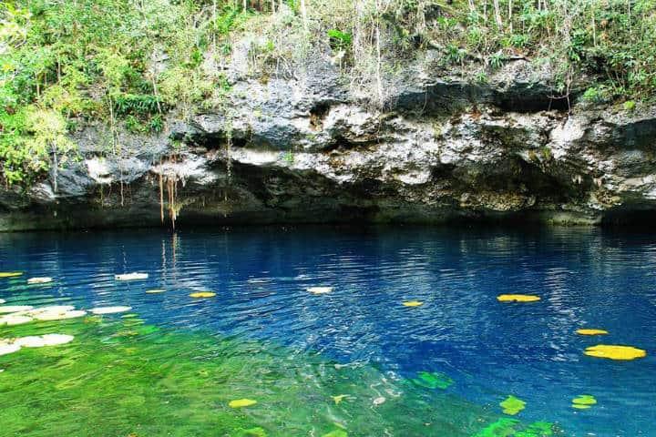 Cenote en Rivera Maya. Foto RM 2