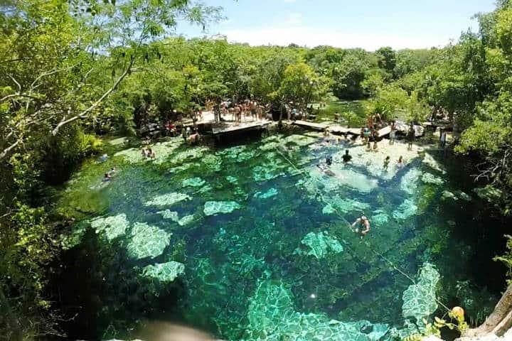 Cenote en Rivera Maya. Foto RM 3
