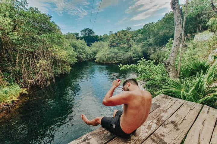 Cenote en Rivera Maya. Foto RM 4