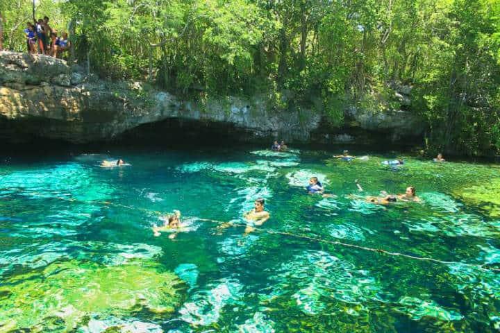 Cenote en Rivera Maya. Foto RM 6