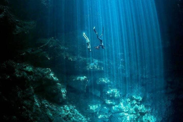 Cenote en Rivera Maya. Foto RM 7