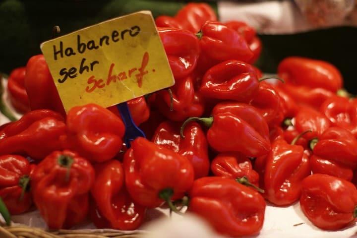 Chile habanero. Foto: HEN-Magonza