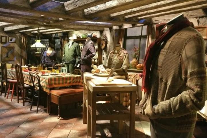 Cocina de la Familia Weasley Foto Archivo