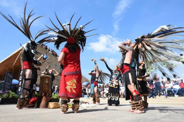 Danza Azteca Foto Maseual