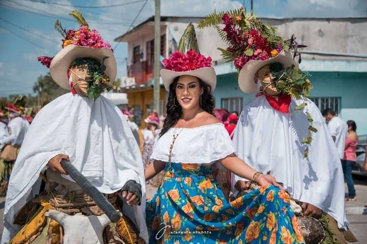Danza del Pochó. Foto: Jacaranda Mendoza Fotos