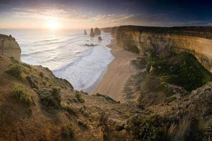 Doce apostoles. Australia. Foto Australia 2