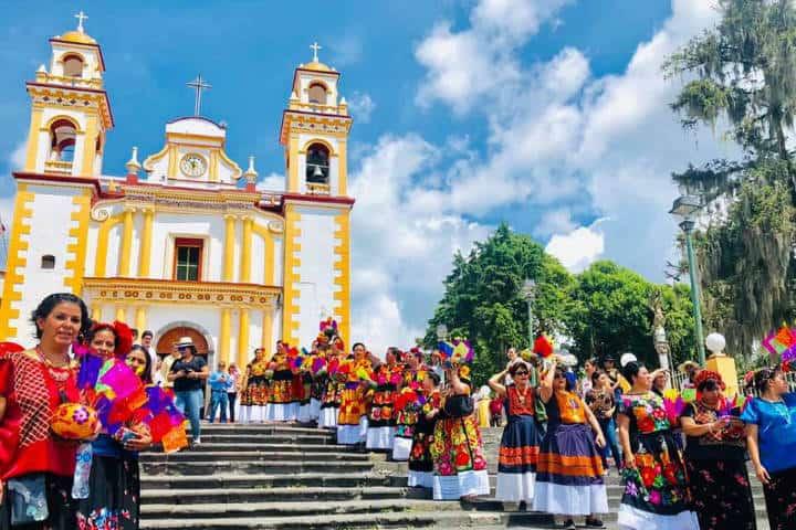 Fiesta de Santa María Magdalena Foto El espejo del poder