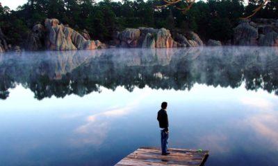 Lago de Arareko Chihuahua Mexico. Foto: Nahum