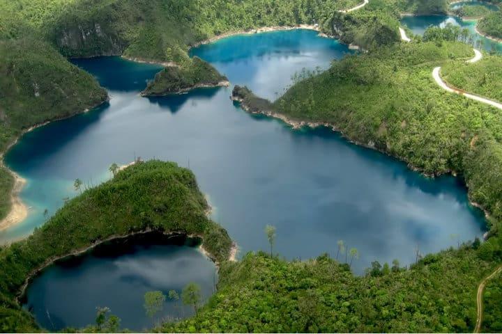 Lagunas de Catazajá Foto Chiapas y su patrimonio turístico