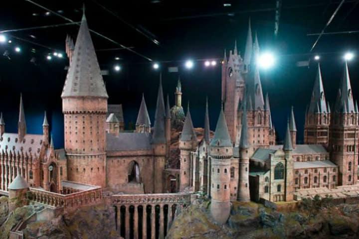 Maqueta de Hogwarts Foto Archivo