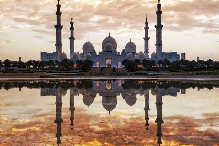 Mezquita Jumeirah. Foto: Farhan Khan