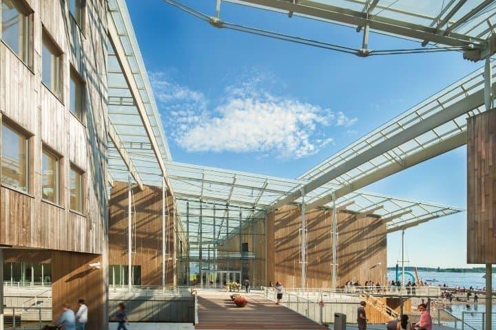 Museo de Arte Moderno Astrup Fearnley.Foto: Renzo Piano Building Workshop