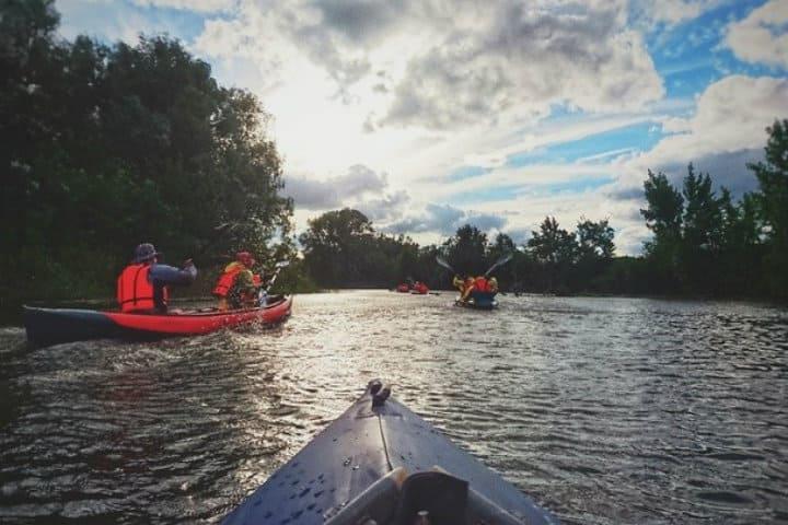 Paseo en Kayak Foto Archivo