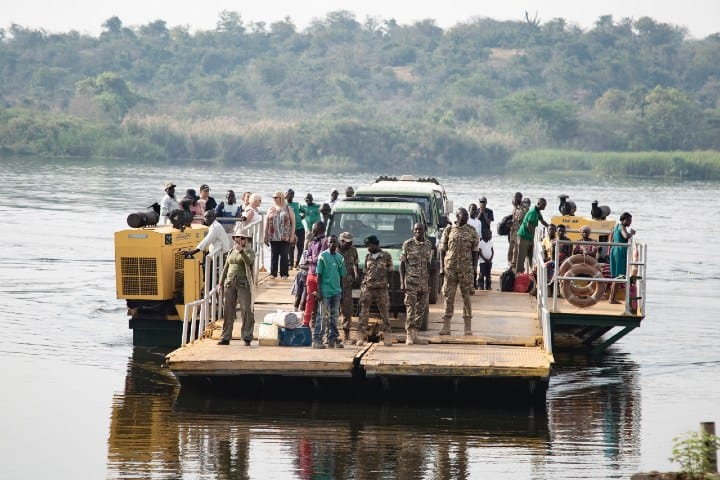 Rio Nilo Uganda. Foto: Sam Balye